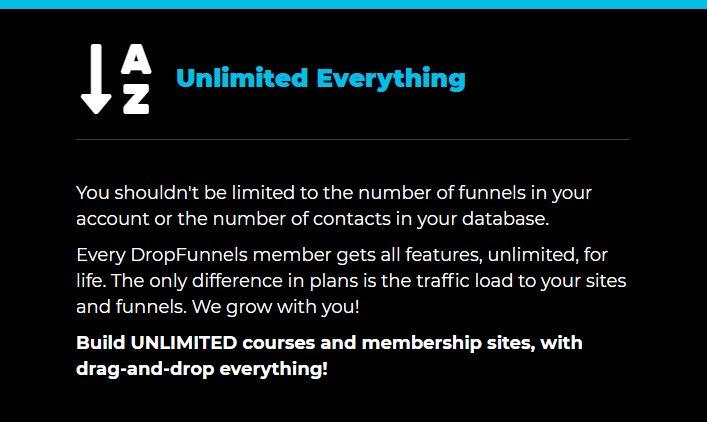 Dropfunnels-unlimited-funnels