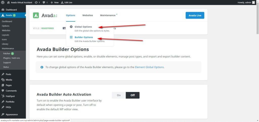 AVADA theme optimization speed up Fusion Builder 5