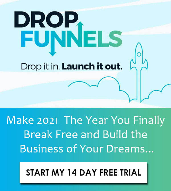 Dropfunnels free trial 2021 start Profit-marketer.com